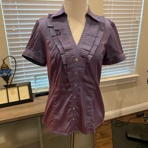 Express purple top Size Small